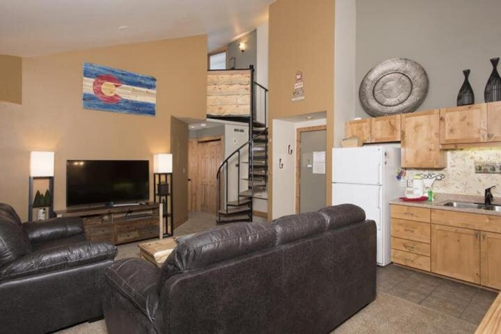 Enjoy Open Space Living Area Leading To Loft (Appliances have been upgraded)