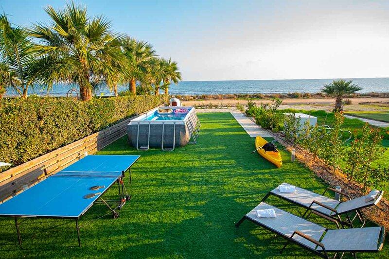 Sea front Villa Dagi (Gorgona Complex), holiday rental in Liopetri