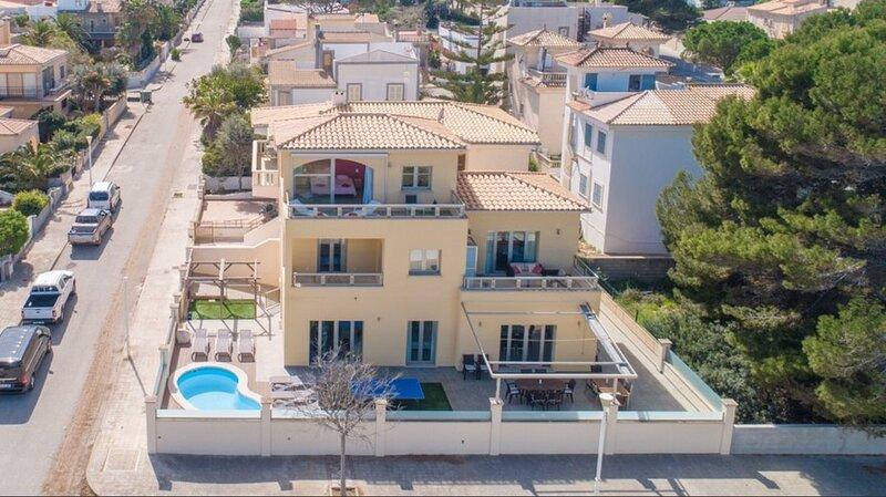SUEÑOS - Villa with pool and seaview in Son Serra de Marina, Mallorca, holiday rental in Son Serra de Marina