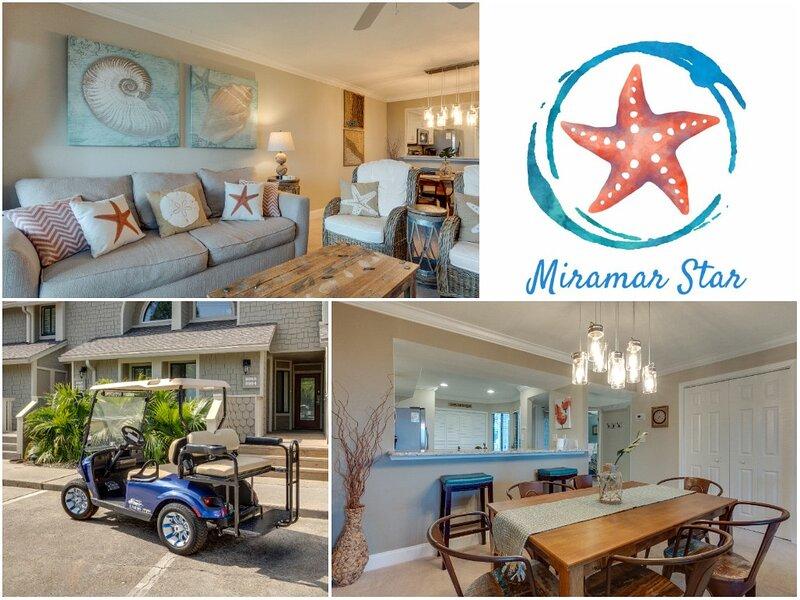 Miramar Star - Ask About Feb 8 - Mar 8 Snowbird Discount! - Golf Cart Included!, vacation rental in Sandestin