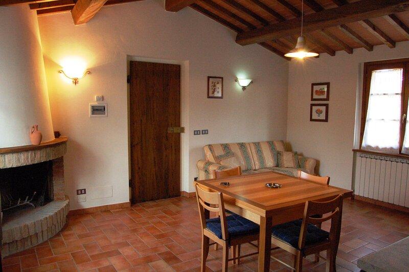 appartamento alle porte del chianti fra Siena edArezzo, casa vacanza a Ambra