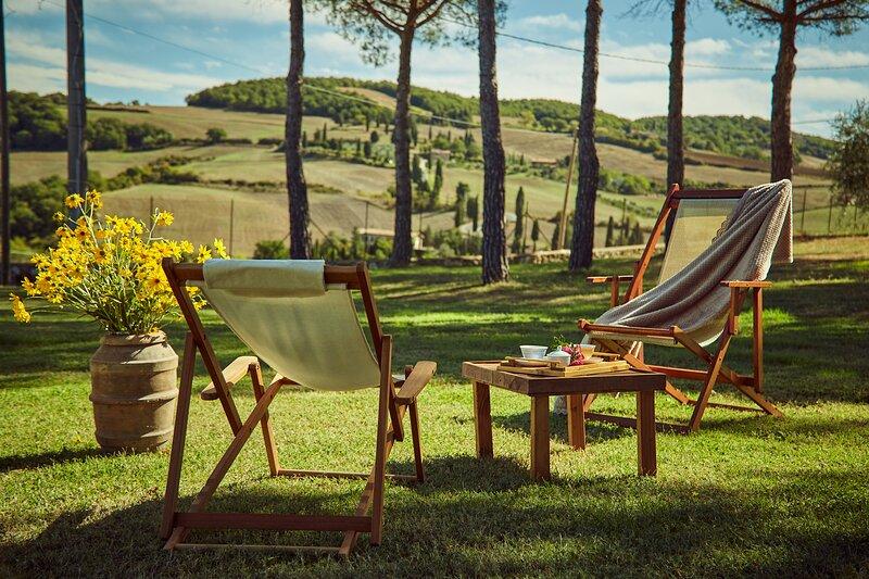 Casa Bonari, a charming view in Tuscany, vacation rental in Pienza
