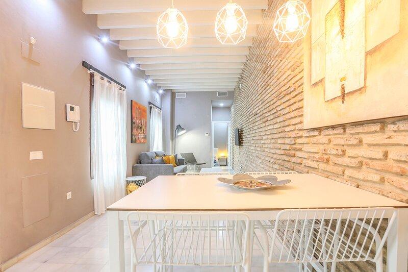 Hermoso apartamento recién reformado en calle Alfarería, alquiler de vacaciones en Sanlúcar la Mayor