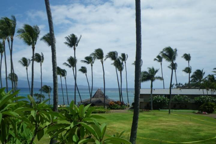 Napili Shores H-167 ocean views with A/C  -  Steps to Napili Bay, holiday rental in Lahaina