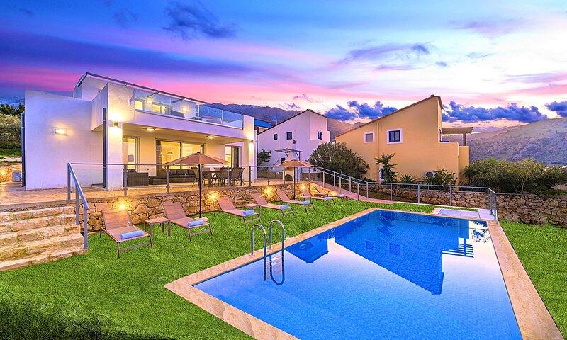 Costa Maris Villa Private Pool, aluguéis de temporada em Georgioupolis