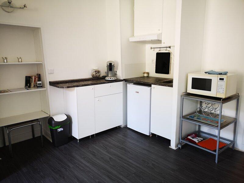 Studio 23 m2, très lumineux, donnant plein sud, aluguéis de temporada em Le Port-Marly