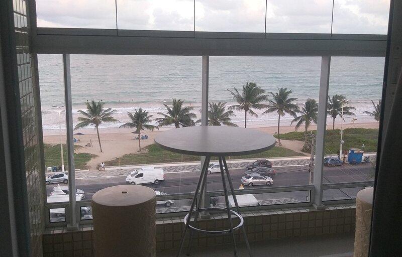 Flat Lindo de Frente para o Mar, aluguéis de temporada em Paraíba