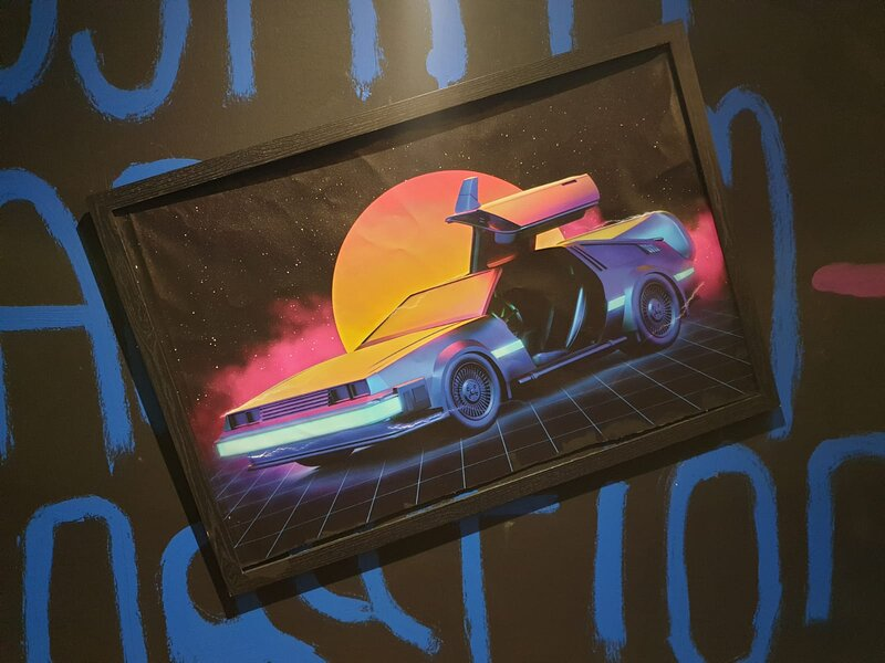 80 S Retro Themed Synthwave Serviced Apartment Canary Wharf Updated 2021 Tripadvisor London Vacation Rental