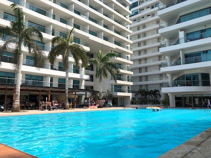 Apartamento De Lujo Con Vista Al Mar En Morros, holiday rental in La Boquilla