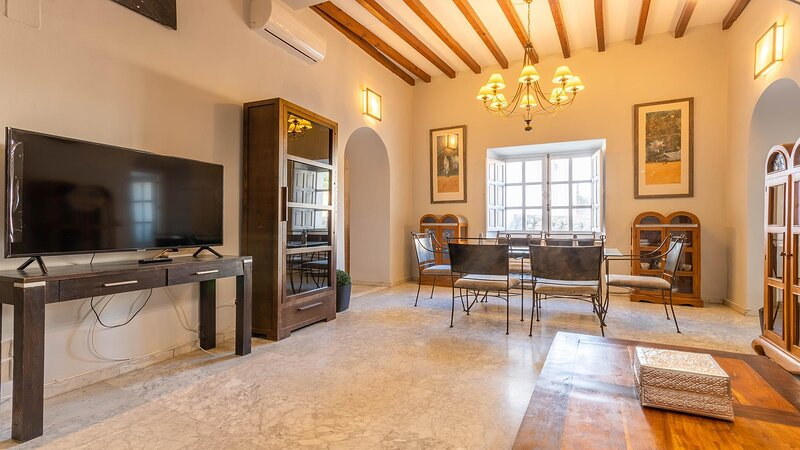 Patio de Los Naranjos Apartment - 2 Bedrooms, holiday rental in Encinarejo de Cordoba