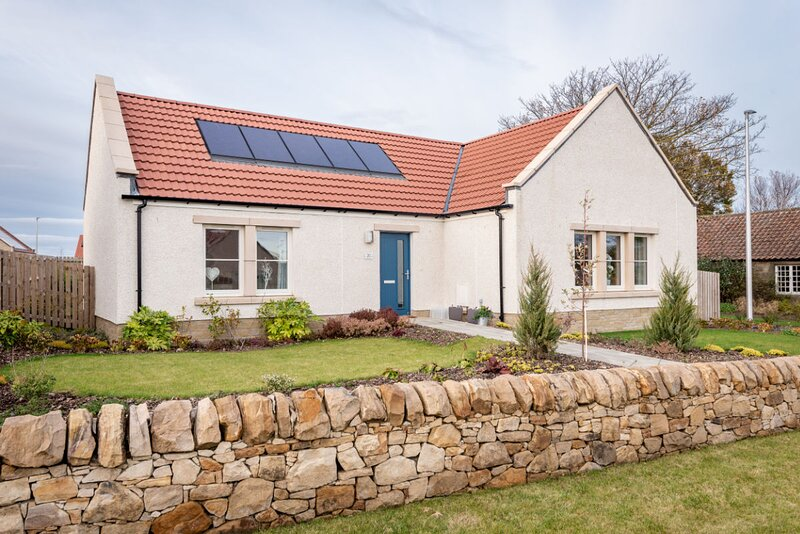 Modern cottage in charming village, holiday rental in Kingsbarns