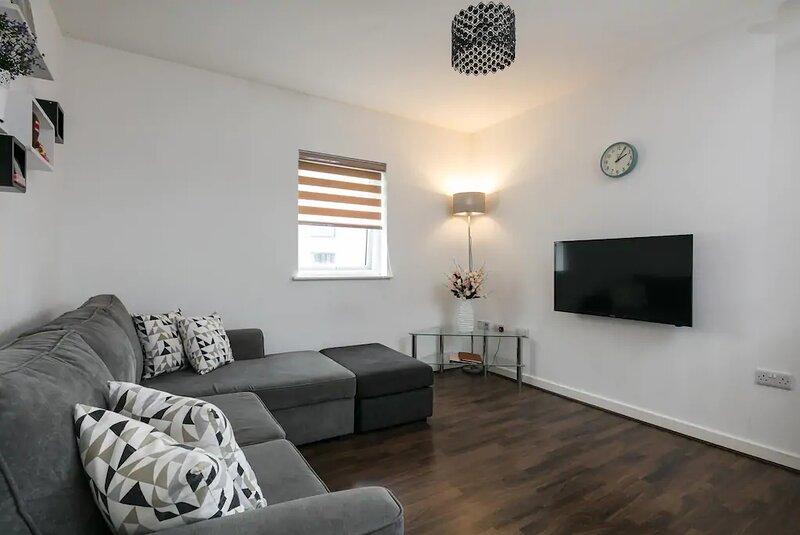 City Centre Penthouse Apartment | Roof Terrace, location de vacances à Audenshaw
