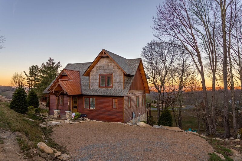 The Grape Escape at Eagles Nest, holiday rental in Roan Mountain