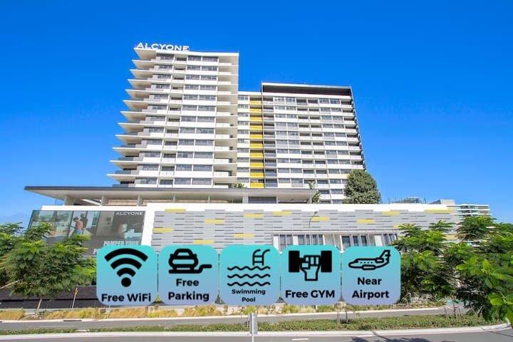 Elite elegance 2BR*Hamilton APT with Parking, holiday rental in Wellington Point