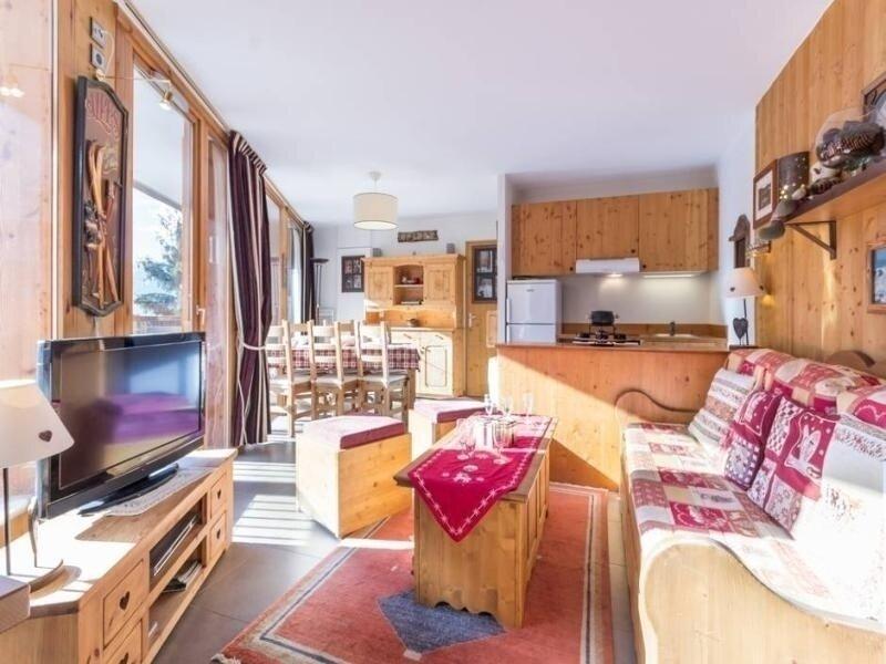 Très bel appartement vue sur les pistes, holiday rental in Montchavin