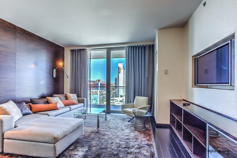 Gorgeous Strip View | Studio at Palms Place - 17, casa vacanza a Las Vegas