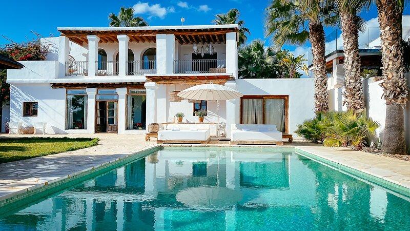 Outside view of Villa Secret Paradise in Sa Carocca San Jordi Ibiza