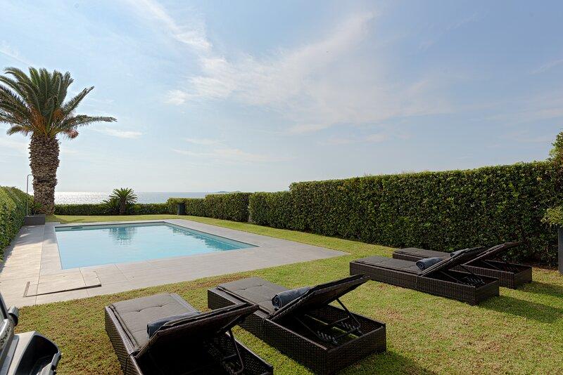 Luxurious Beachfront Villa Maira, holiday rental in Agia Marina