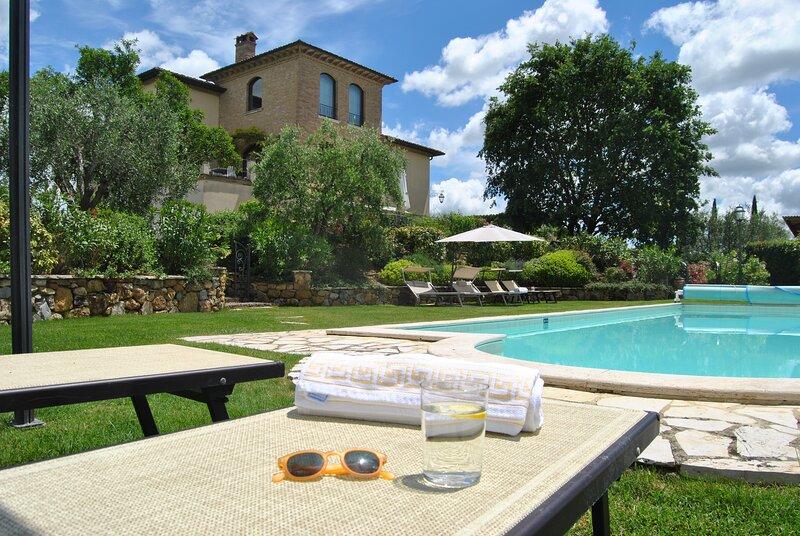 Villa LA VALIANA (Montepulciano), holiday rental in Montepulciano