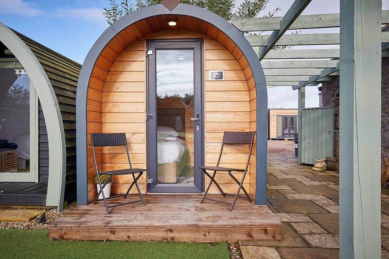 Host & Stay | Single Cosy Pod At Goldenhill, casa vacanza a Ellingham