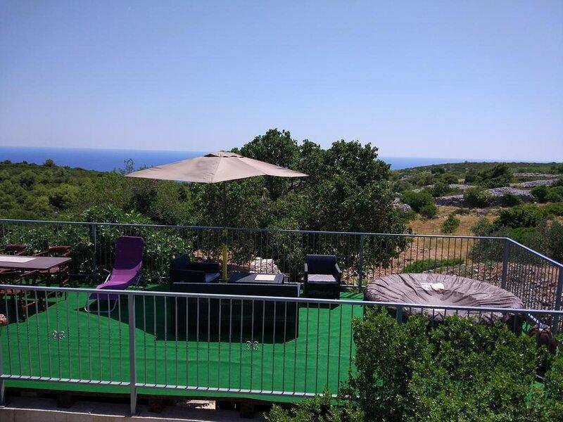 Draga - peaceful family house H(4+2) - Podhumlje, holiday rental in Zena Glava