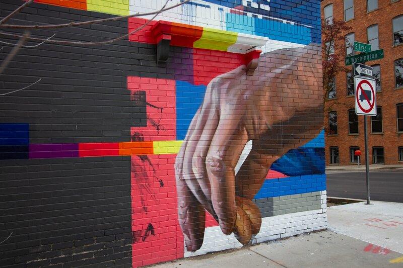 Downtown Ann Arbor artwork