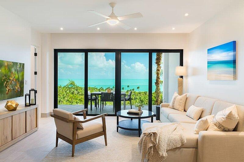 Oceanview LifeStyle Resort Condo ⎮Water Sports at Your Doorstep!, aluguéis de temporada em Five Cays Settlement