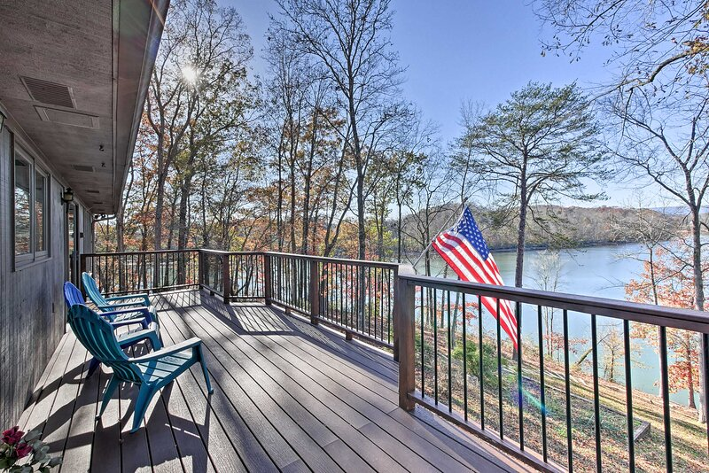 Dayton Vacation Rental | 4BR | 3BA | 2 Stories | Stairs to Access