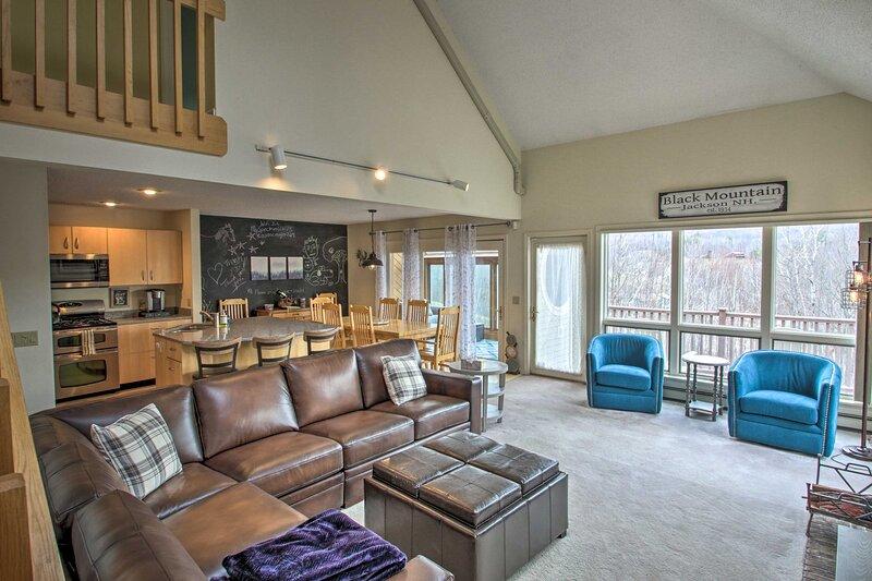 Family-Friendly, Ski-in/Out, Black Mountain Home, casa vacanza a Jackson