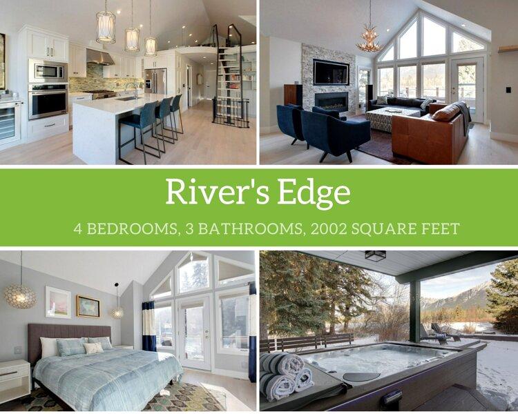River's Edge, alquiler vacacional en Banff