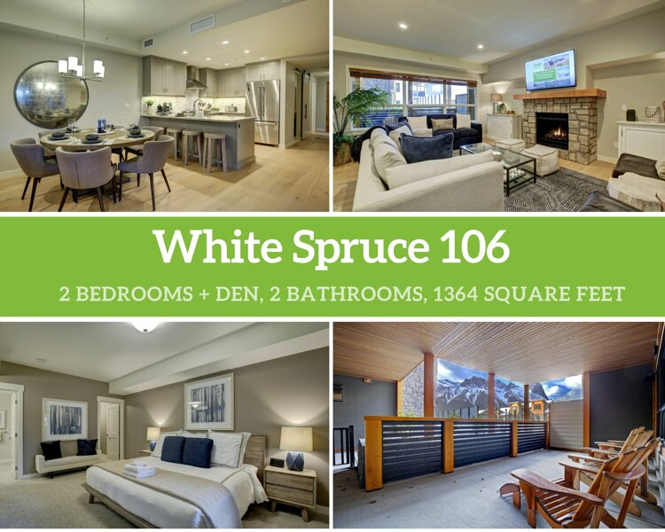 White Spruce 106, holiday rental in Canadian Rockies