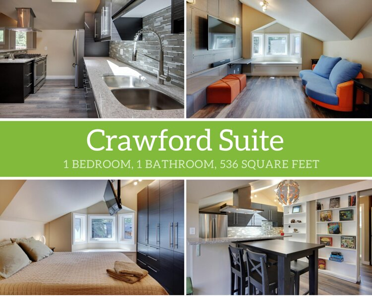 Crawford Suite, holiday rental in Harvie Heights