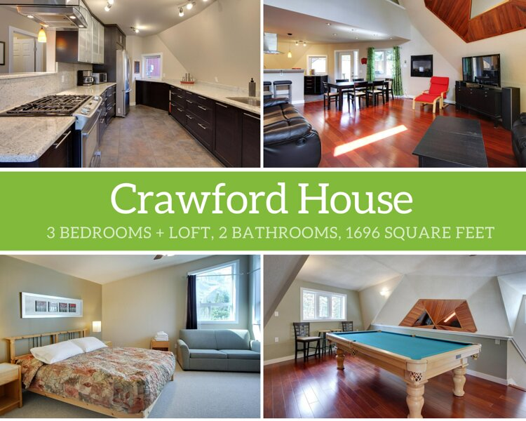 Crawford House, holiday rental in Harvie Heights