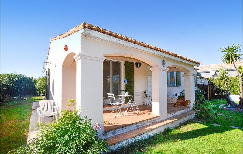 Amazing home in Borgo with 3 Bedrooms (FKO445), alquiler de vacaciones en Borgo