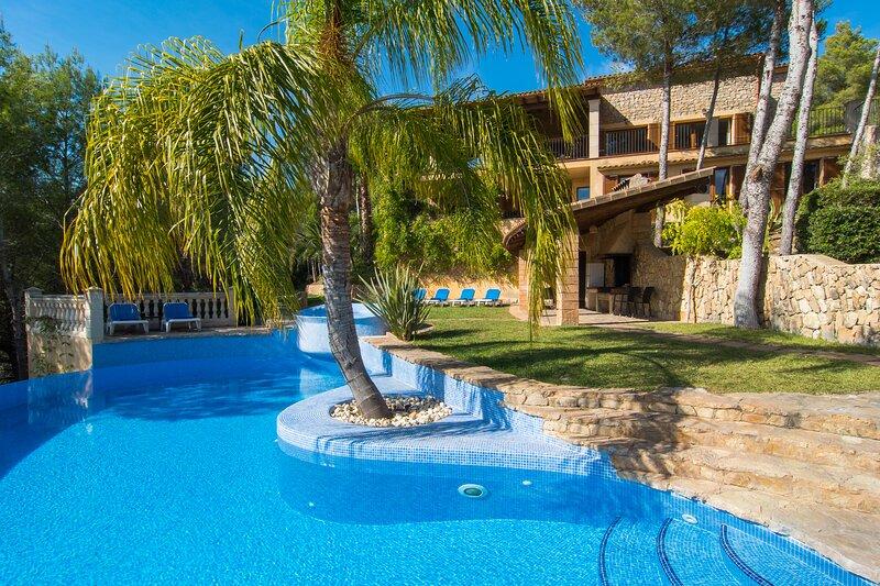 Finca Sa Mola, location de vacances à Calas de Majorca