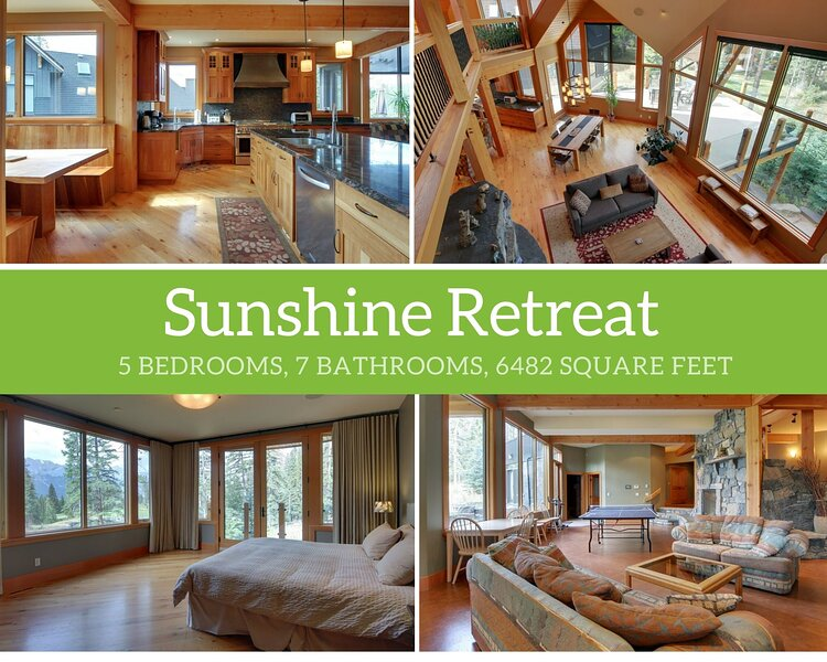 Sunshine Retreat, holiday rental in Seebe