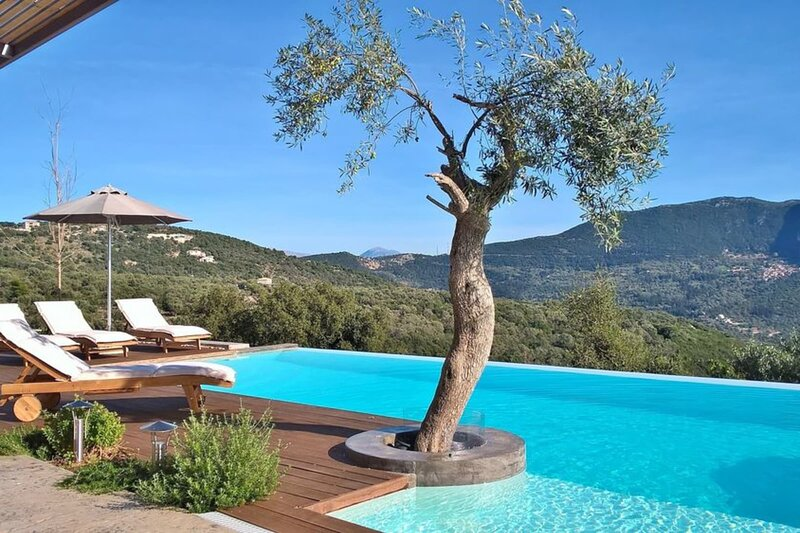 Casa Di Vino Luxury & spacious villa with private pool and jacuzzi, vacation rental in Fterno