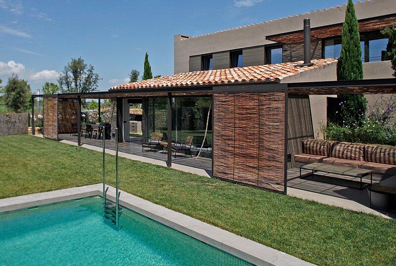 Preciosa villa en Gerona. Golf y playa, Ferienwohnung in Gualta