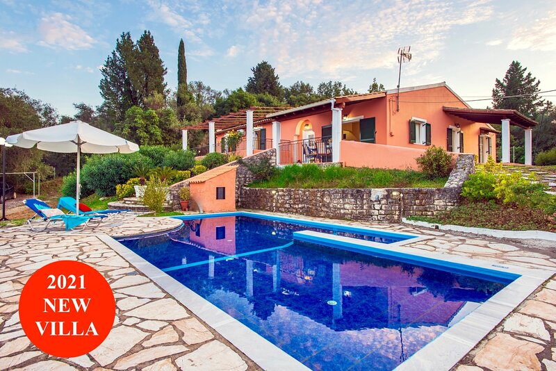 Villa Anatoli with private pool, holiday rental in Agios Stefanos