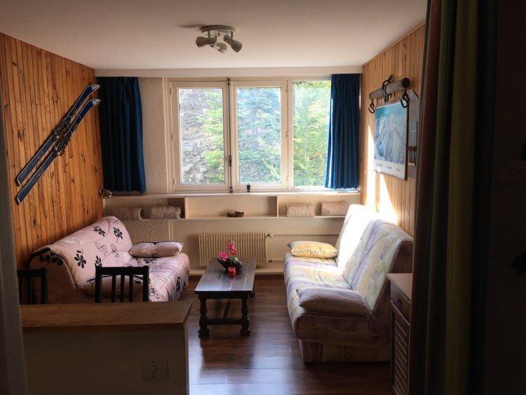 Studio pour 4, au pied des pistes, la Foux d'Allos, holiday rental in Seyne