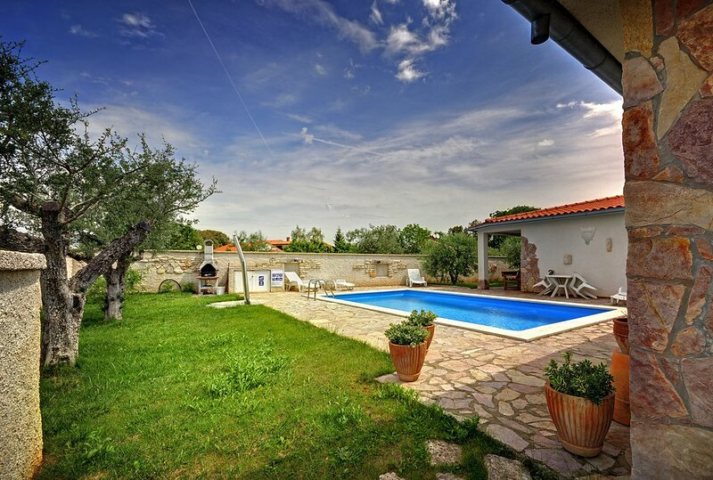 Veli Vrh Holiday Home Sleeps 15 with Pool Air Con and WiFi - 5833736, location de vacances à Stinjan
