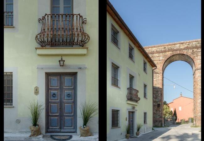 Verciano Villa Sleeps 4 with Air Con and WiFi - 5840811, holiday rental in Guamo