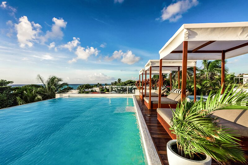 Poblado de Apoyo Diamont Villa Sleeps 22 with Pool and Air Con - 5870088, holiday rental in Playacar