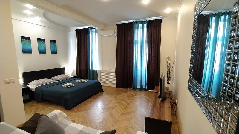 Stylish 1 room apt in DWTN. Walk to Red Square, holiday rental in Orekhovo-Zuyevsky District