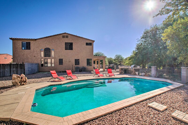NEW! Family Home in Casa Grande w/ Private Oasis!, vacation rental in Arizona City