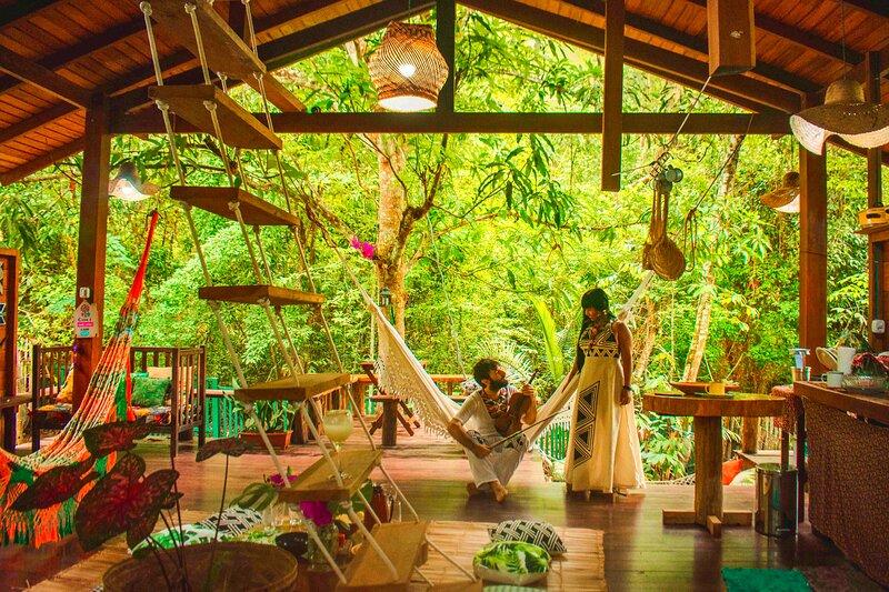 CASA DA ÁRVORE Alter do Chão, Sonho na Amazónia, 50m da praia., location de vacances à Santarem