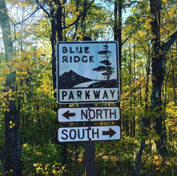Nearby Blue Ridge Parkway
