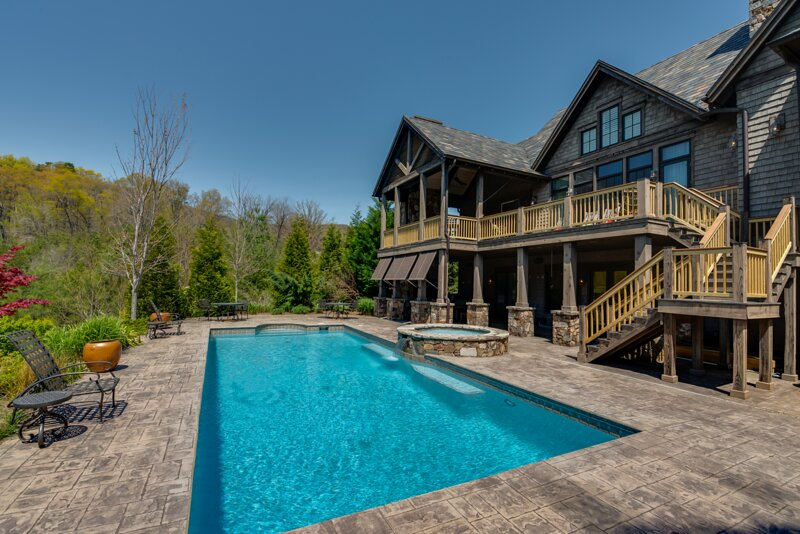 Retreat in Bright's Creek Reserve, holiday rental in Mill Spring