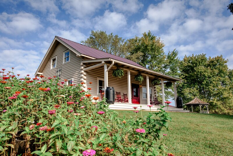 French Broad Cabin, holiday rental in Marshall