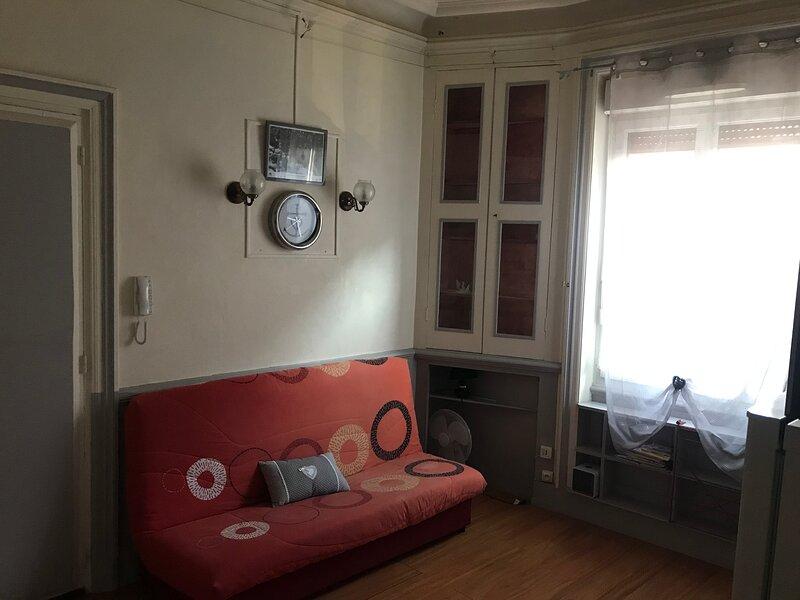Studio rue des Alpes, alquiler vacacional en Mens